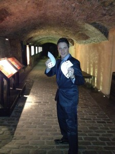 Magician from Manchester At Sterling Castle
