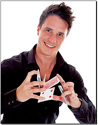 Magic of James Anthony Close Up Magician