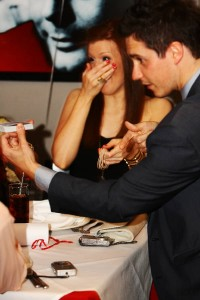 Close Up Magician James Anthony at Rosso's Restaurant Manchester