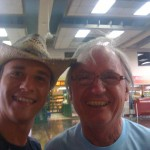 Myself and Syd LIttle